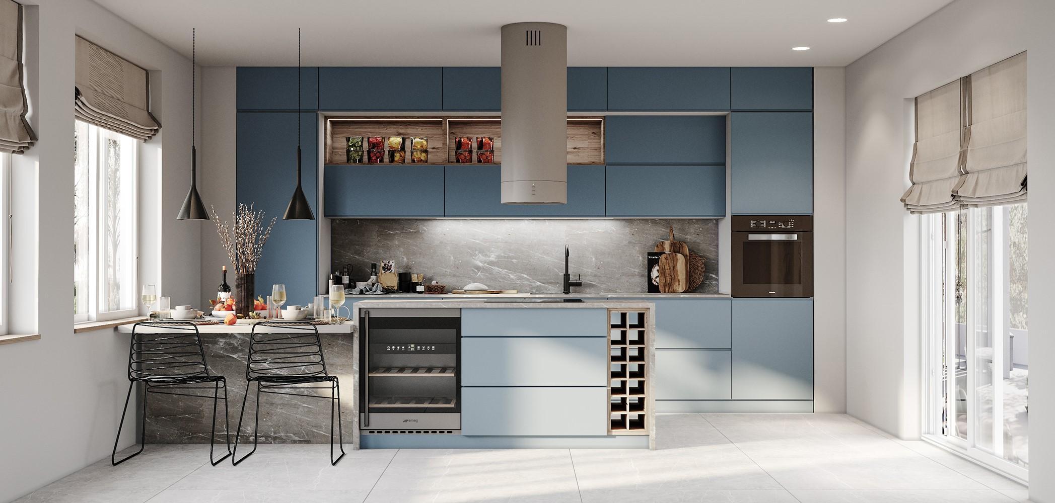 מטבח מודרני - מודולר מטבחים